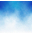 cloud blue vector image