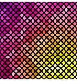 Bright pink and yellow mosaic vector image vector image