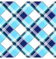 Navy Blue Green White Diamond Chessboard vector image