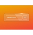 transparent glossy download button vector image