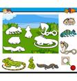 cartoon game for children vector image