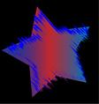 Usa star logo vector image vector image