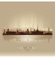 Sochi Russia skyline city silhouette vector image vector image