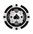 Casino Poker chip vector image