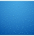 Water drops abstract background vector image
