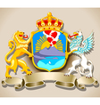 Coat of Arm of Naples vector image