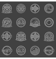 DJ labels set vector image