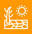 drought vector image
