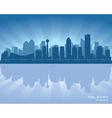 Calgary Canada skyline vector image vector image