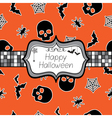 halloween wrapping vector image