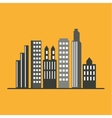 City design Building icon Isolated vector image