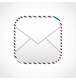 envelope mail design vector image