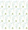 Wild fine blue flower spring field seamless vector image