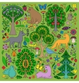 Wonderland Fun Forest vector image