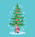 Symbol christmas winter vector image