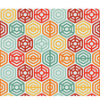 seamless pattern with hexagons - vector image