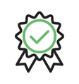 Quality Verified vector image