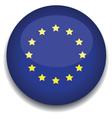 european flag vector image vector image