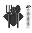 nutrition icon with professional bonus vector image