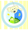 Baby or card animal vector image