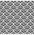 Simple seamless pattern in black and white vector image