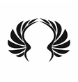 Wing icon simple style vector image
