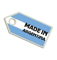 Made in Argentina vector image vector image