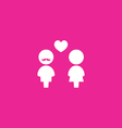 Couples Icon vector image vector image