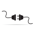 power cord vector image