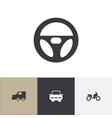 set of 4 editable transport icons includes vector image