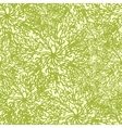 Abstract plants texture seamless pattern vector image