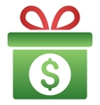 Money Prize Gradient Icon vector image