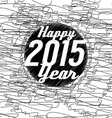 Happy New Year 2015 Abstract Background vector image