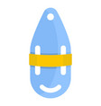 plastic bobber icon flat style vector image