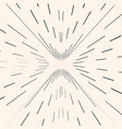 sunburst starburst black radial lines strokes vector image