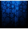 Falling snowflakes EPS 10 vector image