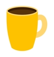 Coffee or tea cup isolated vector image