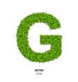 green grass texture vector image
