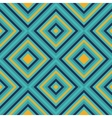 Seamless geometric square pattern in retro style vector image vector image