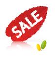 leaf sale vector image