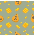 Money and Finance Seamless Pattern vector image