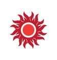abstract logo image vector image