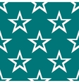 star web icon flat design Seamless gray pattern vector image