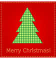 christmas sewing vector image vector image