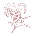 joker icon5 resize vector image