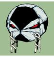 Angry Ball vector image