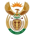 coat of arms of South Africa vector image