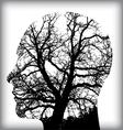 Man tree icon alt vector image
