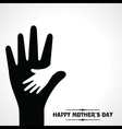 Creative of Mothers Day greeting card vector image vector image