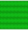 Wave line green seamless pattern vector image vector image